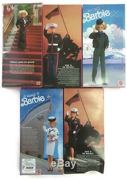 Barbie Et Ken Beaucoup 5 Marine Corps Militaire De La Marine De La Force Aérienne De L'armée Étoiles Stripes
