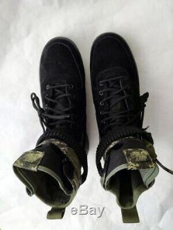 Bottes Militaires Armée Nike Air Force 1 Sf Spéciales Ops De Campagne Pour Hommes 864024-004 12