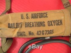Bouteille D'oxygène De Renflouement D'urgence Du Type H-1 De La Force Aérienne De L'armée De L'air De La Seconde Guerre Mondiale Rare