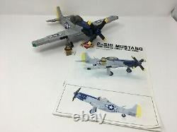 Brickmania P-51d Mustang Deuxième Guerre Mondiale Deuxième Guerre Mondiale Lego Bkm2042 Armée Force Aérienne