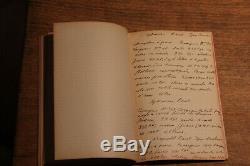 C1900 Livre Manuscrit D'avion D'avion De L'armée De La 1ère Guerre Mondiale Lire Description Curiosa Us