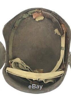 Casque De Flak Original Pour Équipage De Bombardier Us Army Us Army