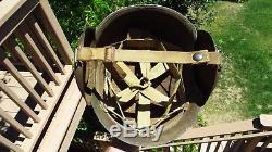 Casque Original De Flak De M3 Gunner De Ww2 Us Army Air Force
