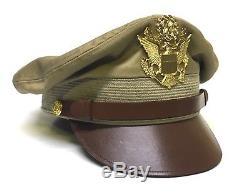 Chapeau De Chapeau De Broyeur De Coton Kaki De L'armée De L'air Des États-unis De Reproduction Faite Aux Etats-unis 7-1 / 2