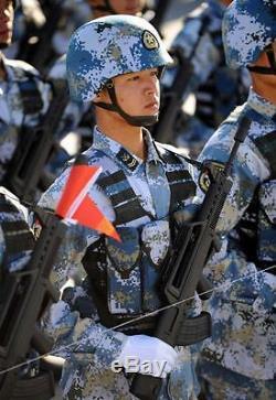 Chine Pla Armée, Marine, Armée De L'air, 2e Artillerie Type Qgf03 Casques Bulletproof
