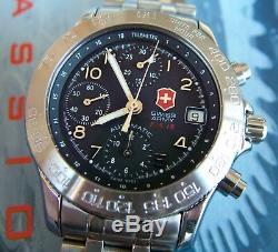 Chronographe Automatique 7750 Valjoux + Xtras De Super Forme Suisse F / A-18 Air Force