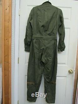 Combinaison Us Ww2 Aaf Flight Army Army Air Force Flyers Suit Taille Moyenne Talon Zippers Réguliers