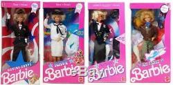 Corps Special Edition Marine Marine Armée Et La Force Aérienne Etoiles N Stripes Barbie Lot
