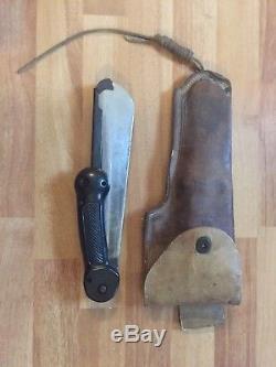 Couteau De Machete De Survie De L'armée De L'air Impériale De La Seconde Guerre Mondiale Us-pliant / Militaire Coréen