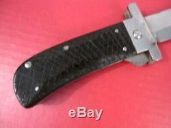 Couteau De Survie Pour Machette Pliante Us Army Avec La Garde Cattaragus # 2