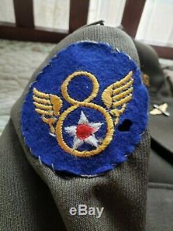 Deuxième Guerre 8e Armée Armée De L'air Officiers Pilote Uniforme