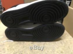 Ds Hommes Nike Air Force 1 Low Prem Noir Blanc Tuxedo Orca 309096 001 Sz 10 Defect