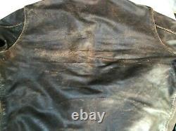 Eastman Cuir Rough Porter 27752 Seal Brown Horsehide A2 Taille Veste 40