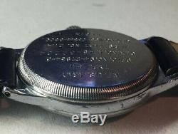 Elgin Wwii A-11 Watch / Us Army Air Forces / Works! / Af 45