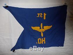 Flag286 Ww2 Us Army Air Force Guide Sur Le 1er. Hq. Quartier Général