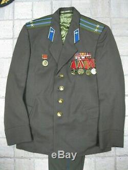 Force De L'armée Russe Soviétique Uniform Air Lieutenant-colonel Aviation Militaire Urss