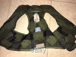 Gilet De Vie De Parachute De Pilote Militaire De 1979 Gilet De L'armée De L'air De Beaufort Rfc 38