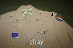 Grand Original Ww2 Identifié U.s. Army Air Forces Pilot's Uniform Grouping Lot