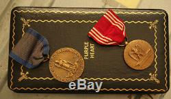 Groupe De Purple Heart De La Seconde Guerre Mondiale À L'aviateur De L'armée De L'air Américaine