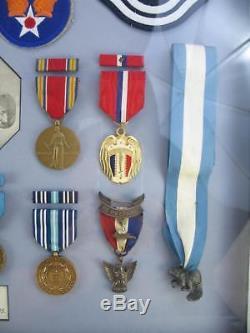 Guerre De Corée De La Deuxième Guerre Mondiale Groupe De Médaille De L'armée De L'air De L'usaf Nommé Avec Eagle Eagle Scout Bsa