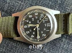 Hamilton H3 Us Army Military Pilot Air Force Af Mil-w-46374b Août 1979 Runs