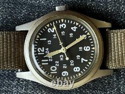 Hamilton H3 Us Army Military Pilot Air Force Af Mil-w-46374b Avril 1982 Runs