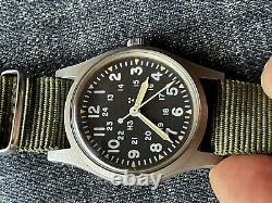 Hamilton H3 Us Army Military Pilot Air Force Af Mil-w-46374b Mai 1982 Runs
