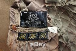 Identifié Ww2 États-unis Armée De L'air Armée De L'air (lt) Short Officers Manteau De Laine