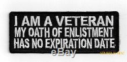 Je Suis Un Ancien Combattant Mon Serment Chapeau Patch Nous Marines De L'armée Marine Air Force Pin Guerre Froide