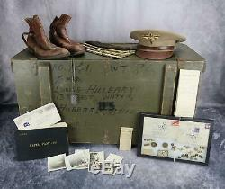 Kia Us Army Air Force Corp Officier Soldat Pilote Pilote Usaf Name Group Trunk Ww2