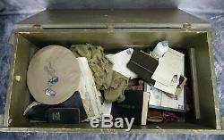 Kia Us Army Air Force Officier Cadet Corp Soldat Pilote Us Air Force Nom Groupe Trunk Ww2