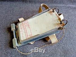 Kneeboard Air Message Pad Avec Scribe Ww2 Us Army Air Force Corps Bombardier Usaaf