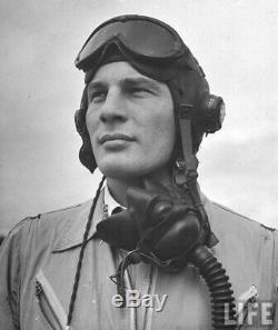 L'armée Américaine Aaf Ww2 8e Air Force Fighter Pilote Britannique Type C Wired Vol Casques