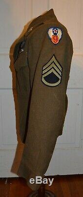 La 9e Guerre Mondiale De L'aviation S'appelle Ike Jacket.