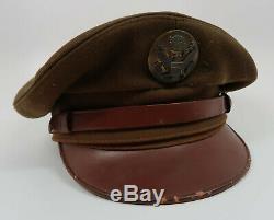 La Seconde Guerre Mondiale, Les États-unis Ont Enrôlé L'uniforme Du Chapeau De La Casquette Du Soldat Corp Usaf
