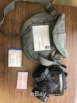 M50 Gaz Véritable Issue Militaire Masque Army Air Force. Petite Taille. Utilisé