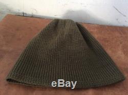 Mécanique A4 Originale De La Deuxième Guerre Mondiale Cap Hat Beanie Watch Army Air Force