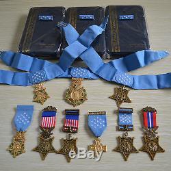 Médaille D'honneur Insigne Orden, Armée, Marine, Armée De L'air, 9 Ordres, Rare