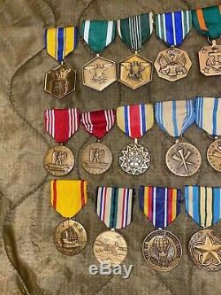 Médaille Militaire Des États-unis Lot, Vietnam Moderne, Guerre Contre Le Terrorisme Marine De L'armée Us Air Force Us