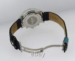 Mens Swiss Army Air Force F/a-18 Automatic Chronograph Watch Strap 40m Saphir
