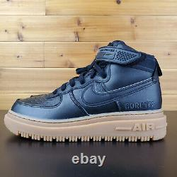 Nike Air Force 1 Gore-tex Boot'black Gum' Black Tan Ct2815-001 Bottes Pour Hommes