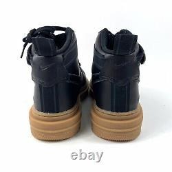 Nike Air Force 1 High Gore-tex Boot Ct2815-001 Taille Homme 12 Black Gum Nouveau Gtx