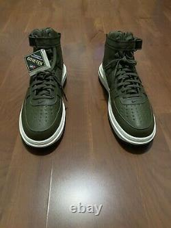 Nike Air Force 1 High Gtx Boot Olive Ct2815-201 Taille 16 Goretex Army Green