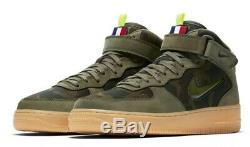 Nike Air Force 1 MID Jewel Camo Av2586-200 Taille Uk 7.5 Eu 42 Us 8.5 Nouveau