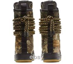 Nike Air Force 1 Sf Af1 Realtree Camo Salut Noir / Gum Bottes Aa1128-004 Mens Sz 13