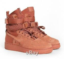 Nike Air Force 1 Sf Dusty Peach Special Field 864024 204 Hommes Taille 9.5