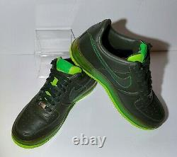 Nike Air Force 1 Supreme Max Air Dark Army Green Hommes Taille 9 316666-333 Retro