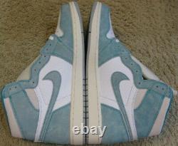 Nike Air Jordan 1 Rétro High Og Shoes Turbo Green White Court Purple I Hommes 10.5