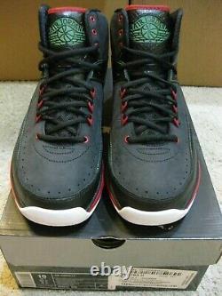 Nike Air Jordan 2.0 Rétro 2011 Chaussures Air Max 720 Noir Vert Rouge 1 2 3 11 Hommes 10