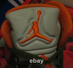 Nike Air Jordan 5 V Retro Ls Chaussures 2006 Olive Vert Orange 3m Undftd 4 6 Hommes 10